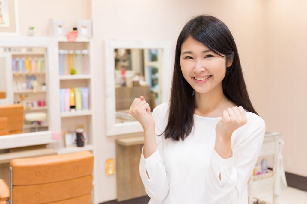 美容師の努力イメージ